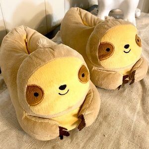 Forever 21 Sloth Indoor House Slippers